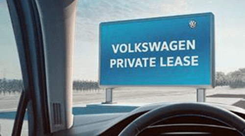 Volkswagen Financial Services - private lease